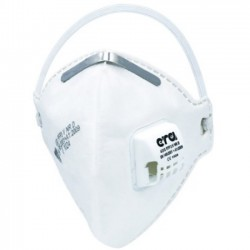 FFP3 Fold Flat CE Certified Respirator Mask by ERA (1 Mask Only)